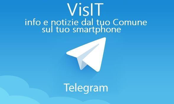 Il Comune di Trinità ha attivato VisITTrinita, il nuovo canale informativo Telegram
